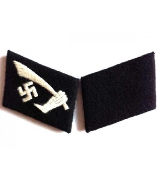 SS Hanschar Division collar tabs - 1 pair
