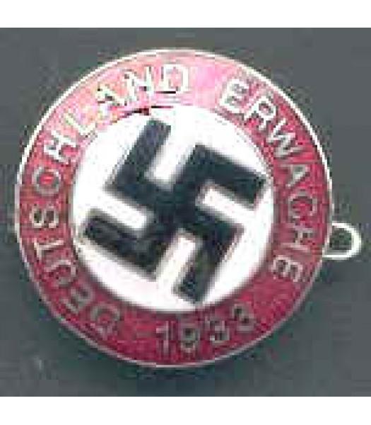WW2 German Deutschland Erwach badge