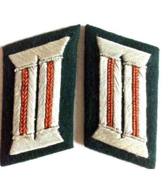 Heer Officer Collar Tabs