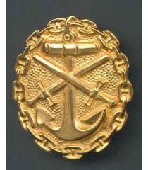 WW2 German Navy Wound badge