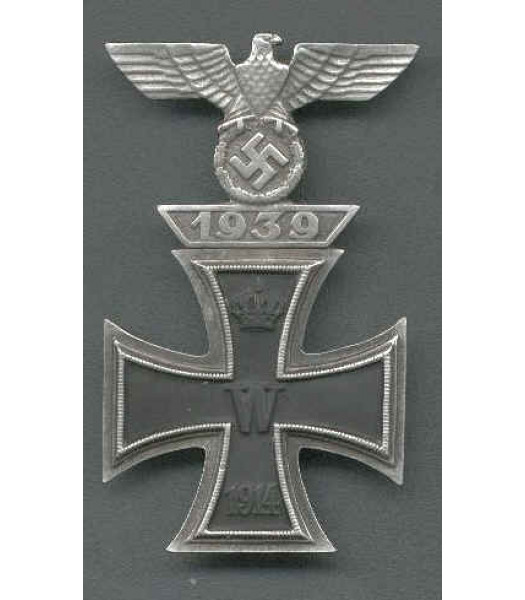 WW2 German Iron Cross with clasp