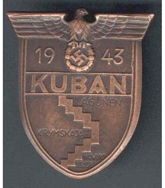 WW2 German Kuban Shield Medal