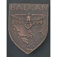 WW2 German Balkan Shield Medal