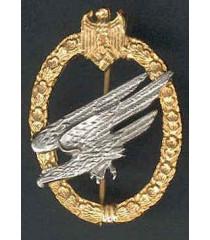 WW2 German Fallschirmjager Badge