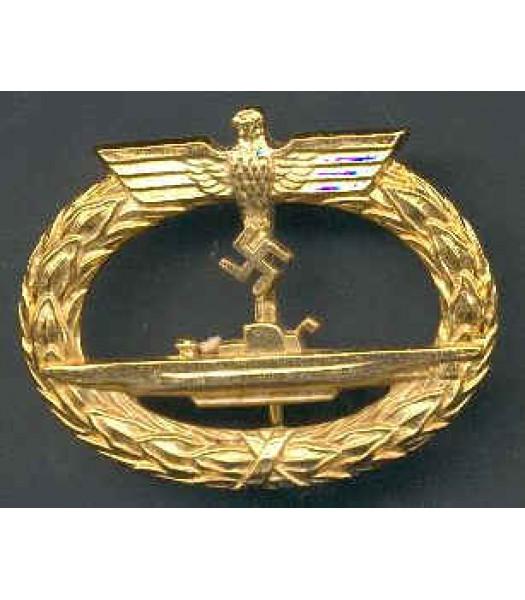 WW2 German Kriegsmarine Submarine warfare badge