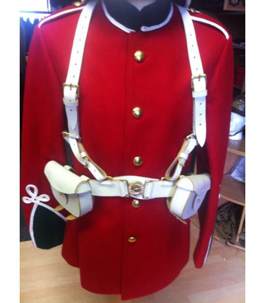 Victorian British Army White webbing set- Zulu War