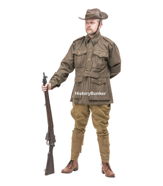 WW1 Australian 1st pattern Army uniform - WW1 ANZAC uniforms - WW1 AIF uniform