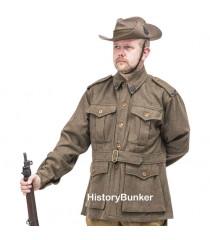 WW1 Australian 1st pattern Army tunic - WW1 ANZAC uniforms -WW1 AIF uniform - world war one australian army uniforms