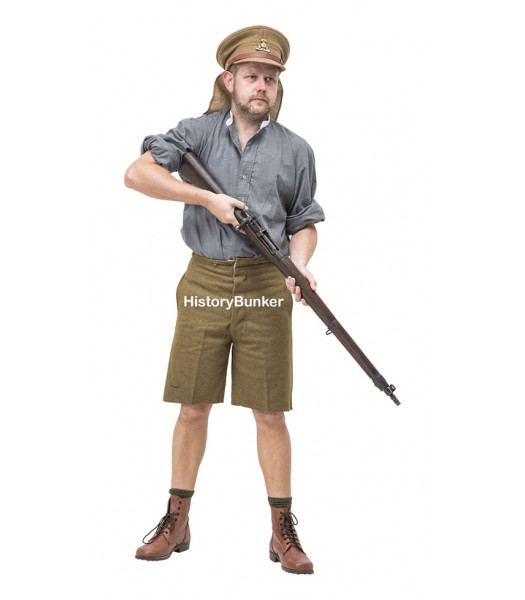 WW1 British Uniform at Gallipoli 1915