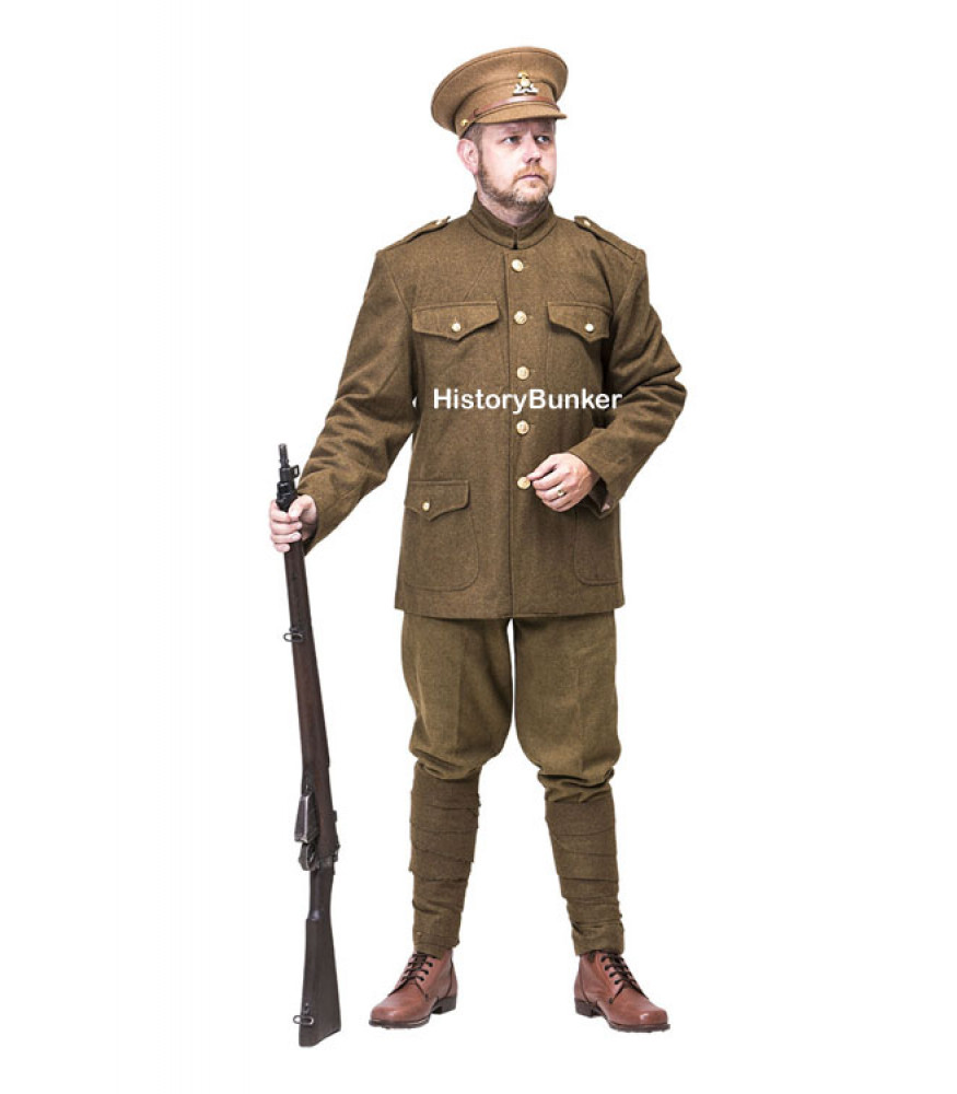 WW1 Canadian Army Uniform