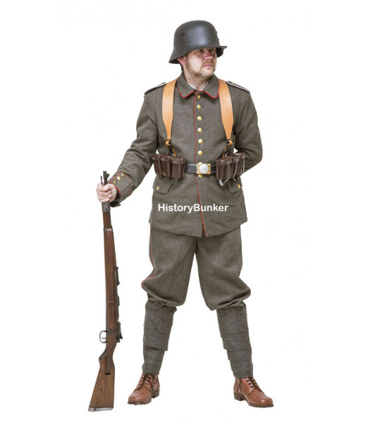WW1 Imperial German Soldier uniform 1916 with webbing FOR HIRE