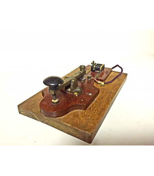 Morse Code key tapper for hire