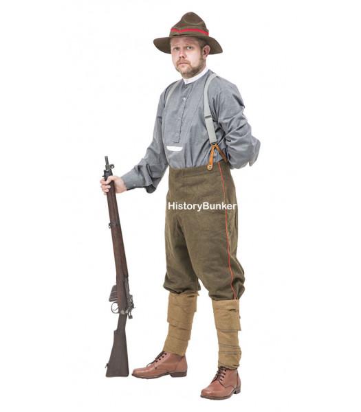 WW1 New Zealand 1912 pattern breeches- ww1 ANZAC uniforms -- 1st world war uniforms