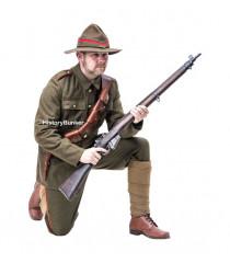 WW1 New Zealand uniform at 1914 - First World War uniforms