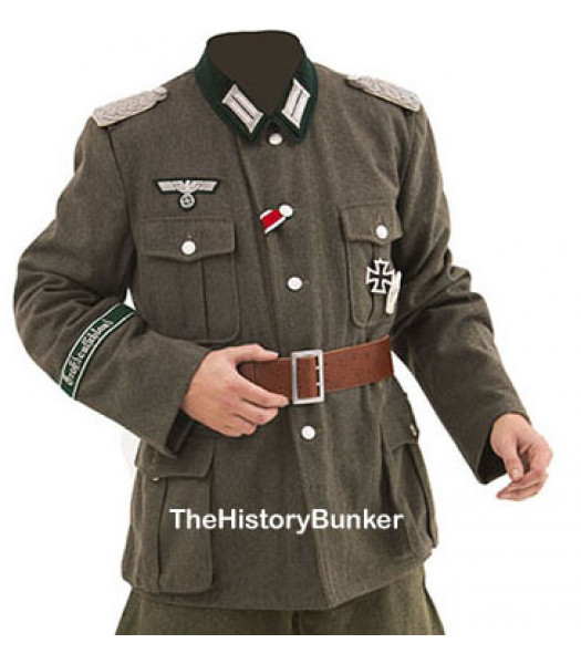 WW2 German M36 officers tunic with insignia