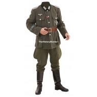 WW2 German army Heer Officer uniform package