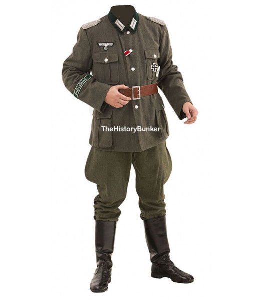 WW2 German army Heer Officer uniform package