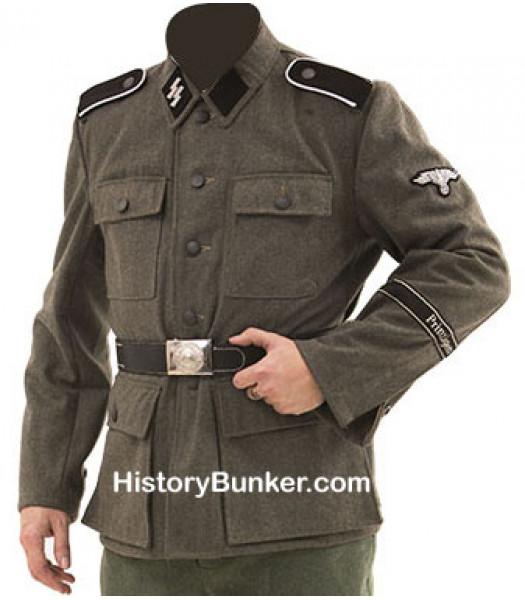 WW2 German M43 tunic with insignia
