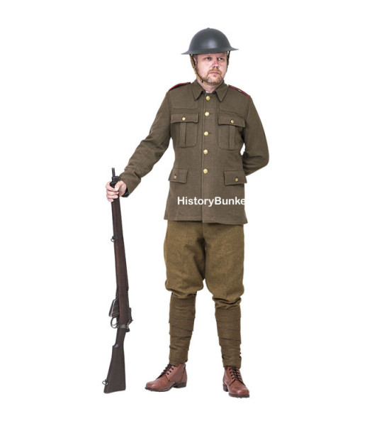 WW1 New Zealand 1912 pattern Army uniform