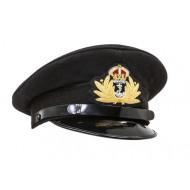 WW2 British Royal Navy officers peaked cap