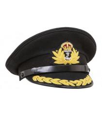 WW2 British Royal Navy Commanders peaked cap