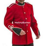 Victorian 24th regiment of foot Warwickshire tunic