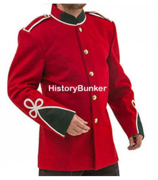 Victorian 24th infantry of foot tunic