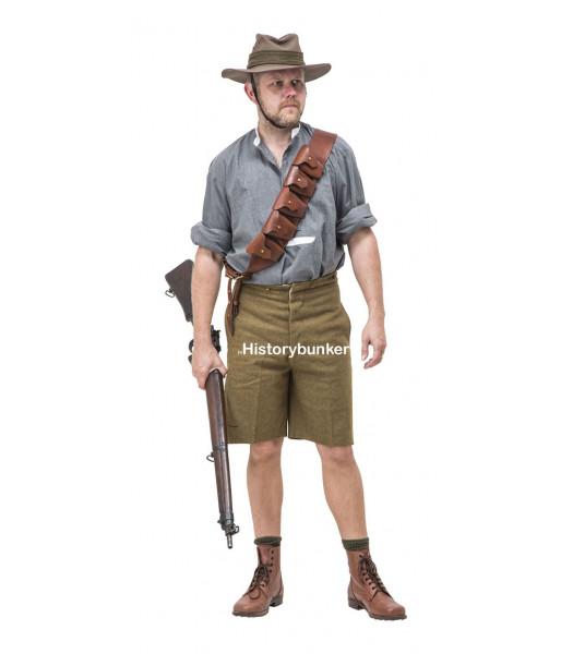 WW1 Australian at Gallipoli - WW1 AIF uniform - First World War uniforms