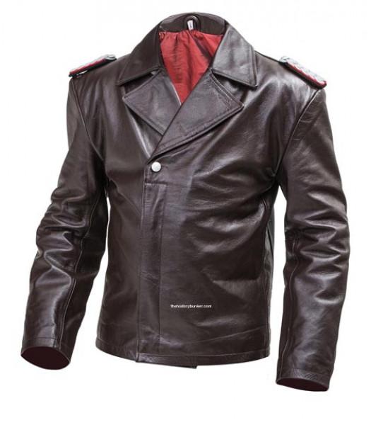 WW2 German U Boat jacket (Panzer wrap style)  BROWN