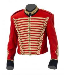 British Army Cavalry Jacket Pelisse - Steampunk Military Uniform
