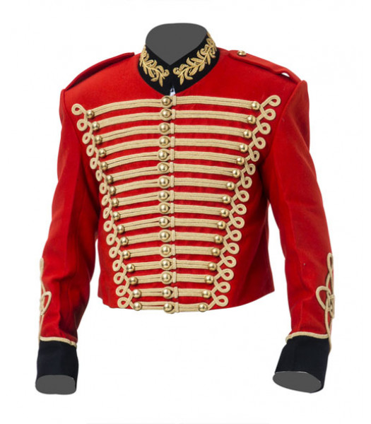 British Army Cavalry Jacket Pelisse - Steampunk Military Uniform