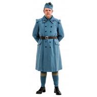 WW1 French army Horizon Blue Overcoat