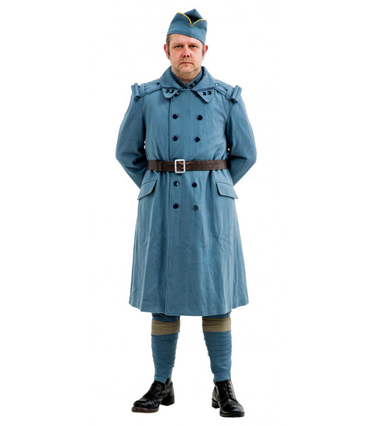 WW1 French army Horizon Blue Overcoat