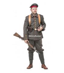 WW1 Imperial German Soldier uniform 1914 with webbing
