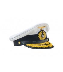 Kriegsmarine Admirals Cap - WW2 German Officers Cap
