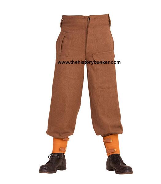 British Army 37 Pattern Battle Dress Trousers