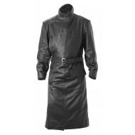 WW1 RFC Royal Flying Corps Leather Coat - BLACK