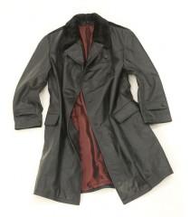 WW2 Soviet Navy officer leather coat