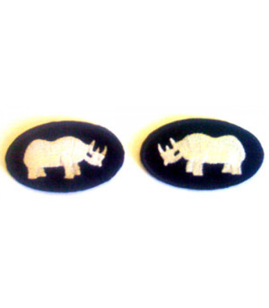 1st Armoured Division - WW2 British Insignia  - 1 Pair