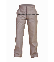 U-boat Kriegsmarine leather trousers - Kriegsmarine leather trousers- GREY