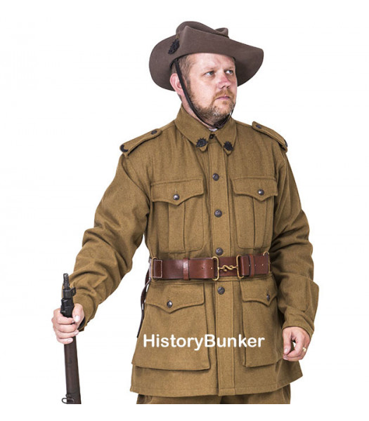 WW1 Australian 2nd pattern Army tunic - WW1 ANZAC uniforms -WW1 AIF uniform - world war one australian army uniforms