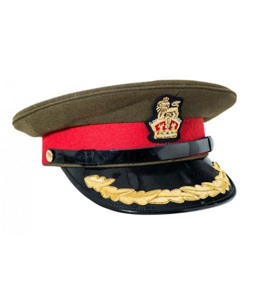 WW1 and WW2 British Army Colonel Cap