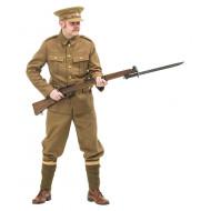 WW1 British Soldiers Uniform 1914 with no webbing