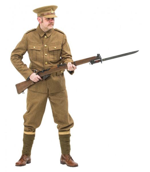WW1 British Army Soldiers Uniform 1914 with no webbing