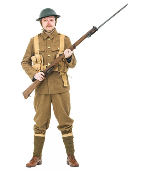 "WW1 British Army Soldiers Uniform 1916 ""The Somme"" - ww1 army uniform"