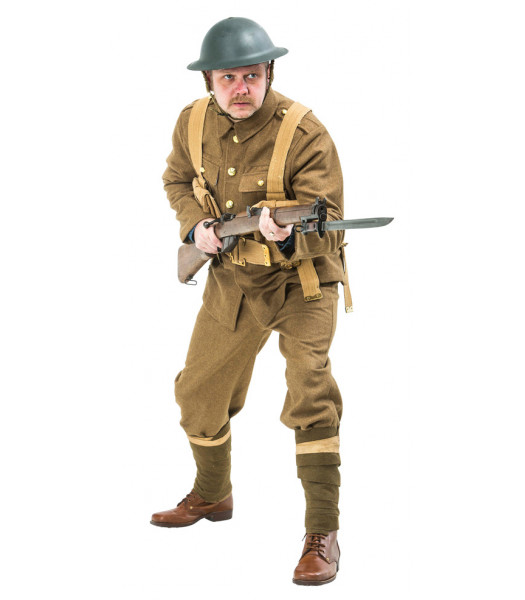 "WW1 British army Soldiers Uniform 1916 ""The Somme"" - FOR HIRE"