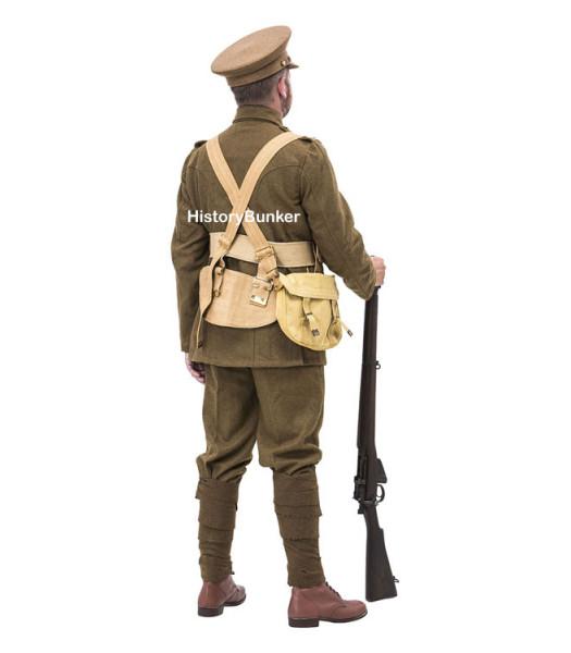 WW1 British Army Soldiers Uniform 1914 with webbing - world war one army uniforms
