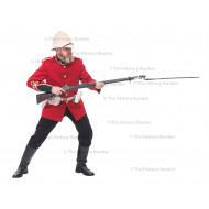 1879 British Army Uniform 24th of foot uniform - no webbing