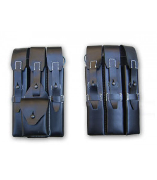 German MP40 Leather Ammo Pouches