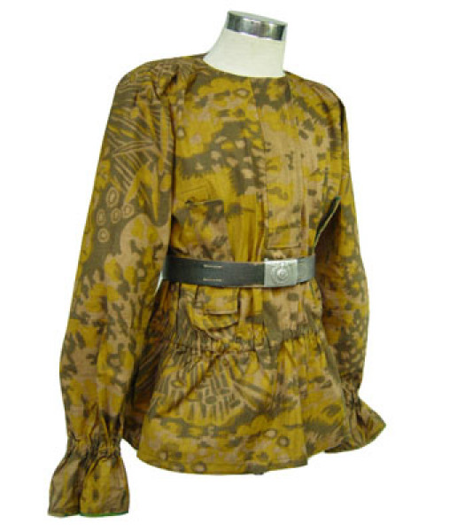 WW2 German WW2 Palm tree camo smock - fall